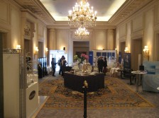 I+V stand World Luxury Congress