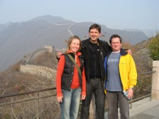 Andy with happy clients in China